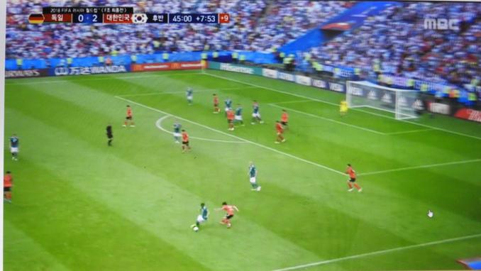 한국 축구대표팀 강적 독일에 2 : 0 으로 완승
