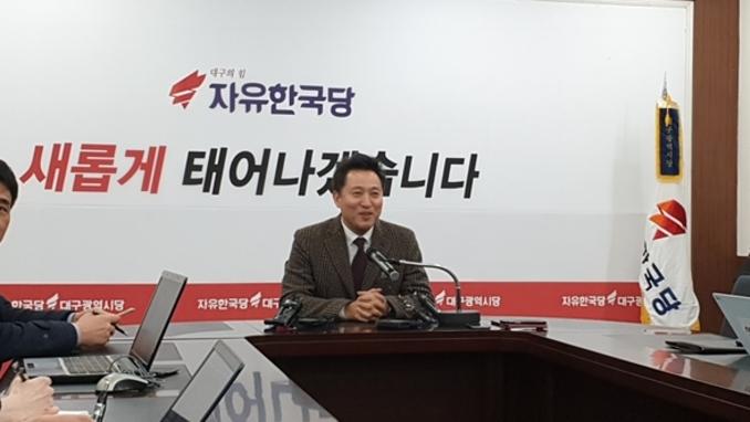 오세훈 전 서울시장 '당대표 - 대선출마 고심 중'