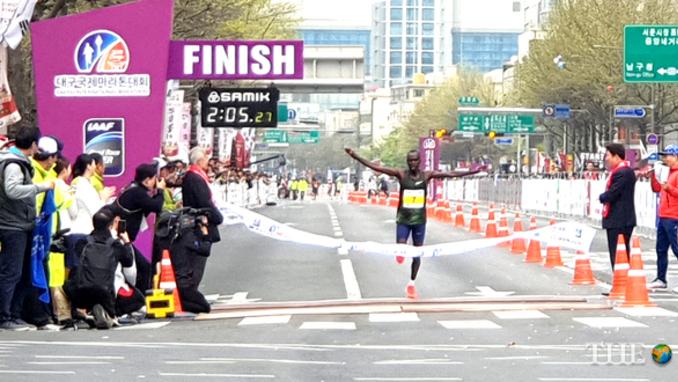 2019 대구국제 마라톤 신기록 달성