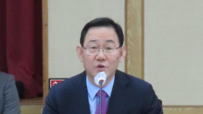 """주호영 원내대표""""대구•경북 중점사업 예산확보 집중 """""""